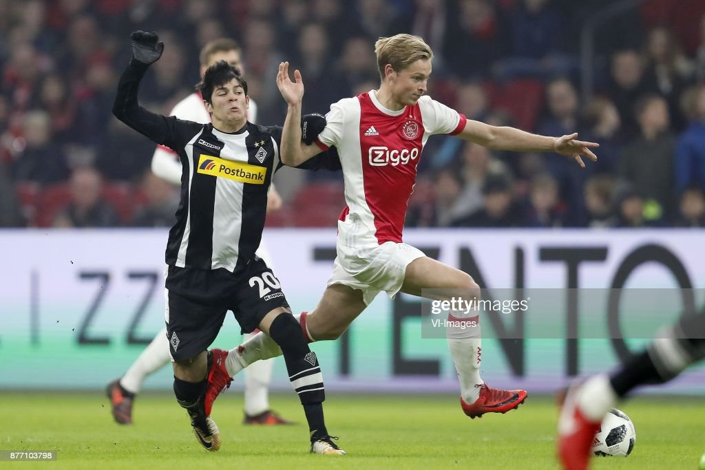 Ajax Amsterdam v Borussia Moenchengladbach - Club Friendly
