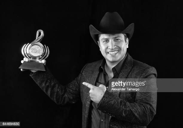 Julion Alvarez attends Univision's 29th Edition of Premio Lo Nuestro A La Musica Latina at the American Airlines Arena on February 23 2017 in Miami...