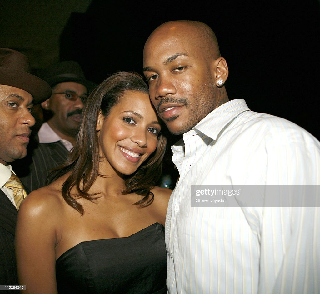 Julissa and Stephon Marbury during Grand Opening of Megu Midtown at Trump World Towers at Trump World Towers in New York, NY, United States.