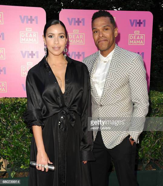 Julissa Bermudez and Maxwell attend VH1's 2nd annual 'Dear Mama An Event to Honor Moms' on May 6 2017 in Pasadena California