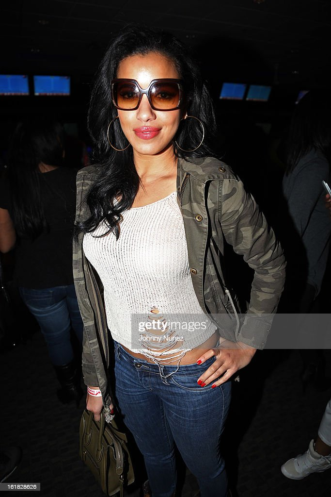 <a gi-track='captionPersonalityLinkClicked' href=/galleries/search?phrase=Julissa+Bermudez&family=editorial&specificpeople=778932 ng-click='$event.stopPropagation()'>Julissa Bermudez</a> attends The King Pin Celebrity Bowling Challenge, hosted by La La Anthony and Fabolous at 300 Houston on February 16, 2013, in Houston, Texas.