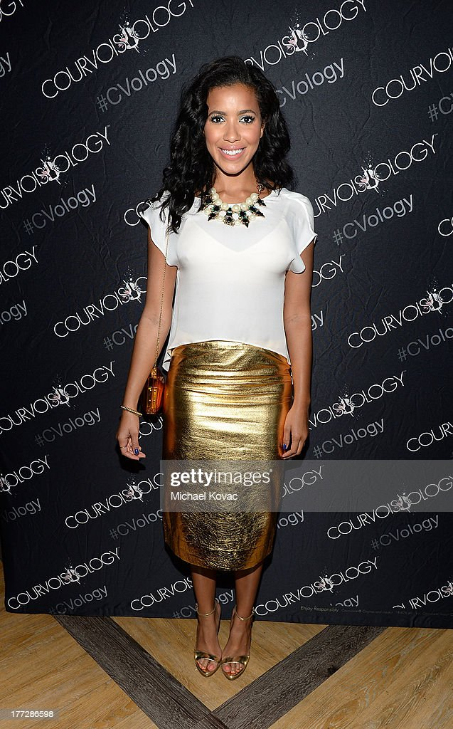 Julissa Bermudez attends the one year anniversary of Courvoisier Gold at Bootsy Bellows on August 22, 2013 in West Hollywood, California.