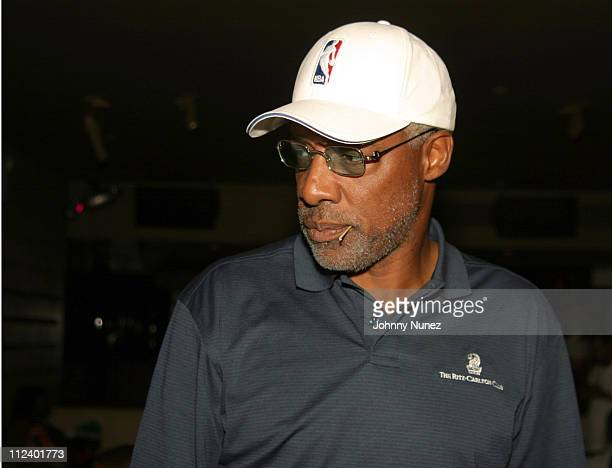 Julius 'Dr J' Erving during Michael 'Blue' Williams' 35th Birthday Party at Viscaya in New York City New York United States