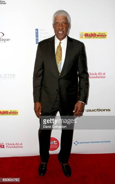 Julius Erving at the 17th Annual Harold Carole Pump Foundation Gala at The Beverly Hilton Hotel on August 11 2017 in Beverly Hills California