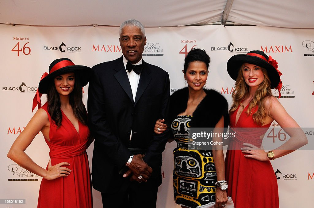 Julius Erving attend the Maxim And Maker's 46 Fillies & Stallions Hosted By Blackrock at Mellwood Arts & Entertainment Center on May 3, 2013 in Louisville, Kentucky.