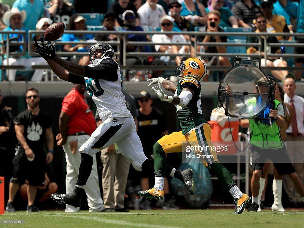Green Bay Packers v Jacksonville Jaguars