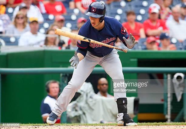 Milwaukee Brewers left fielder Ryan Braun during a MLB game at Nationals Park in Washington DC The Milwaukee Brewers defeated the Washington...