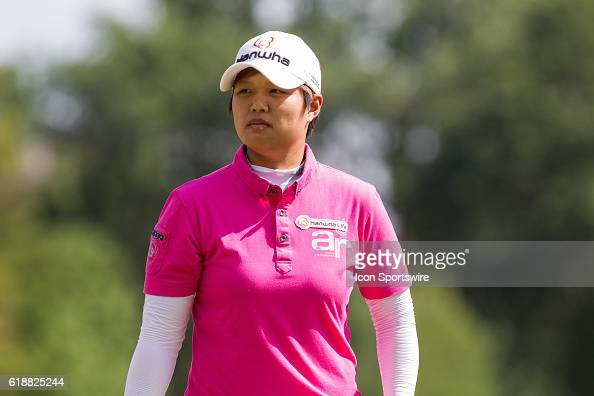Haru Nomura of Japan during the first round of the LPGA Marathon Classic presented by Owens Corning and OI at Highland Meadows Golf Club in Sylvania...