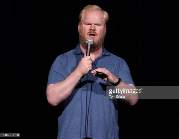 Comedian Jim Gaffigan performs to a soldout crowd in the Event Center Borgata Casino and Spa in Atlantic City NJ on Saturday July 15 2017 Jersey