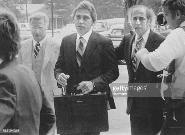 July 16 1979 Raleigh North Carolina Dr Jeffrey MacDonald nine and a half years after his pregnant wife and two young daughters were killed in a Fort...