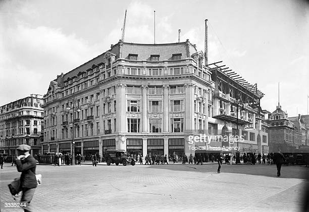 Peter Robinson's department store in Oxford Circus London