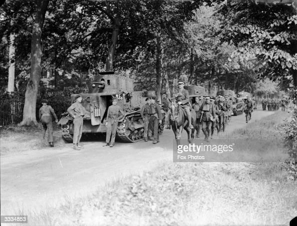 The 1st Coldstream Guards during manoeuvres at Aldershot and Basingstoke