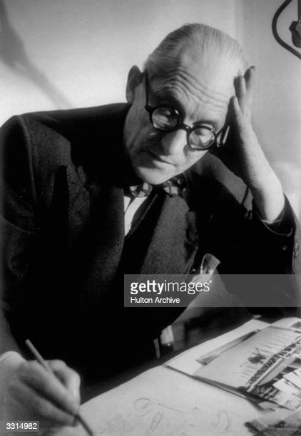 Charles Edouard Jeanneret known as 'Le Corbusier' the Swissborn French architect writer and painter
