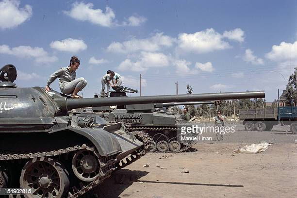 July 1967 after the 'Six Day War' Israel tripled its surface area The new frontier of the Hebrew state Kuneitra Syrian city occupied by the Israelis...