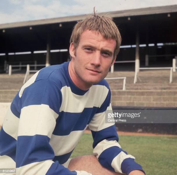Footballer Rodney Marsh of Queens Park Rangers