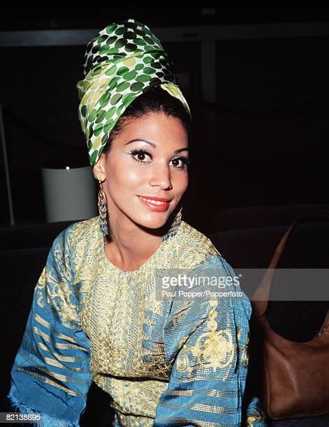 July 1971 A portrait of Jennifer Holsten winner of the Miss World beauty pageant in 1970