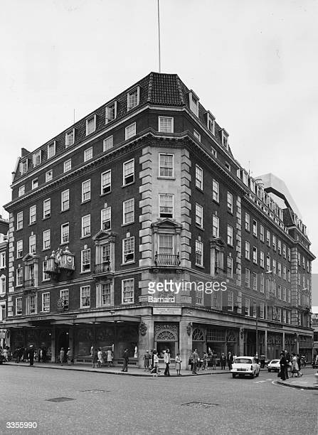 Fortnum and Mason's in Piccadilly London one of the world's most renowned food stores