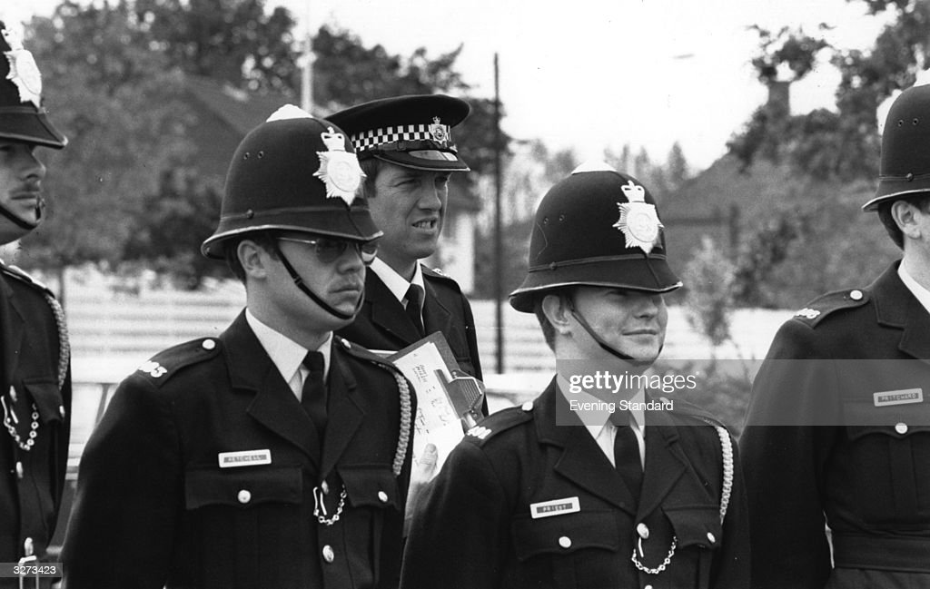 Police cadets at Hendon.