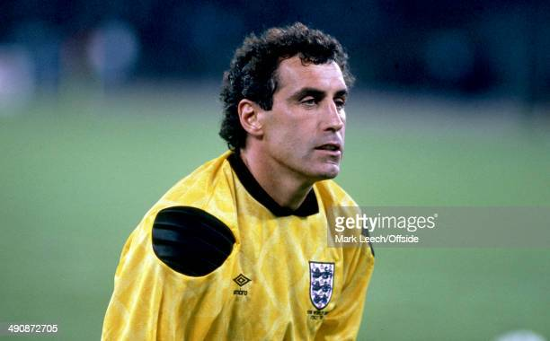 04 July 1990 Football World Cup 1990 England v West Germany England Goalkeeper Peter Shilton