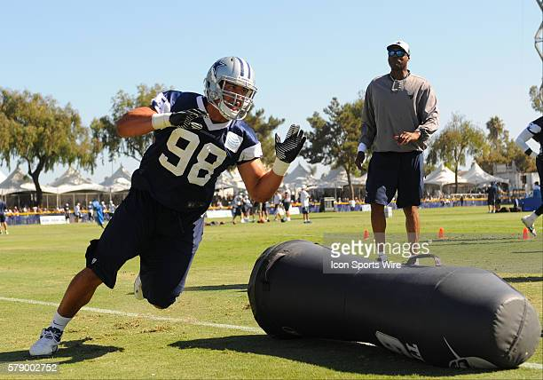 Cowboys Orie Lemon during the Dallas Cowboys Training Camp at the River Ridge Playing Fields in Oxnard CA