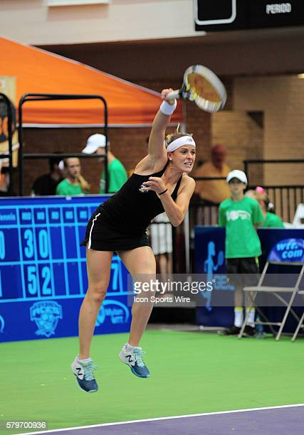 Austin Aces Nicole Gibbs during 25 8 win over the San Diego Aviators at Gregory Gym in Austin TX