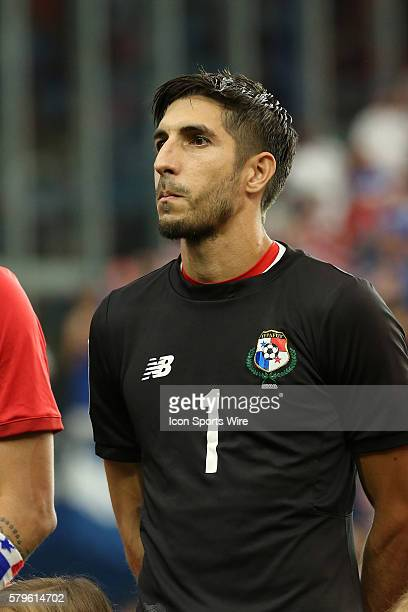 Jaime Penedo The United States Men's National Team played the Panama Men's National Team at Sporting Park in Kansas City Kansas in a 2015 CONCACAF...