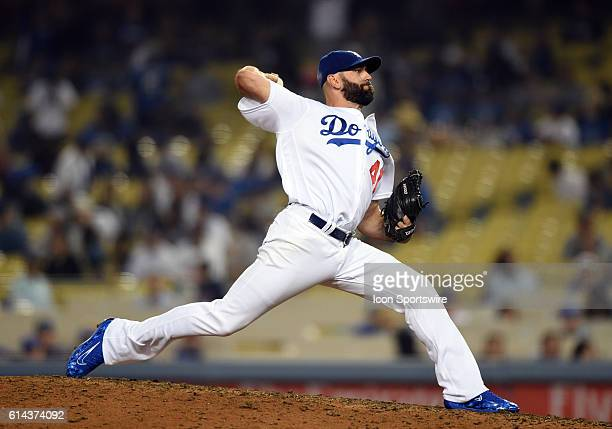 Los Angeles Dodgers Pitcher Chris Hatcher [6729] during a Major League Baseball between the Colorado Rockies and the Los Angeles Dodgers at Dodger...
