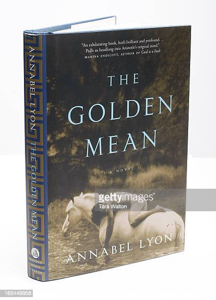 July 22 2009BOOKS 157855Sunday books 'The Golden Mean' by Annabel Lyon