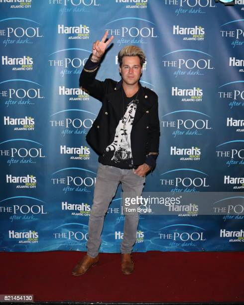 Ryan Cabrera performs at The Pool After Dark at Harrah's Resort on Saturday July 22 2017 in Atlantic City New Jersey