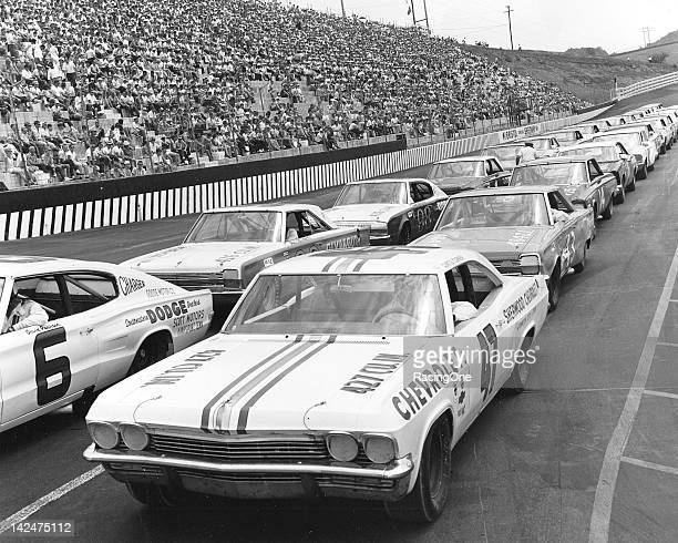 Vintage stock car racing