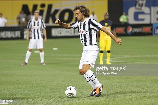 Juve's Andrea Pirlo the World Football Challenge friendly match between Club America and Juventus at Citi Field in Flushing NY