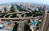 TANGSHAN July 27 2016 Photo taken on July 7 2016 shows the scenery of eastern downtown Tangshan north China's Hebei Province In the early hours of...