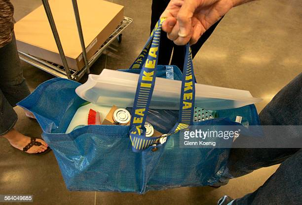 July 3 2007 IKEA has begun charging customers 59 cents for this plastic bag to carry their purchases The idea is to encourage people to use less...