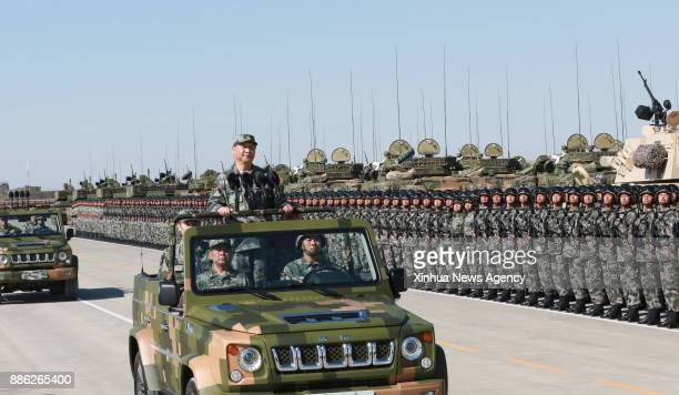 ZHURIHE July 30 2017 Chinese President Xi Jinping also general secretary of the Communist Party of China Central Committee and chairman of the...