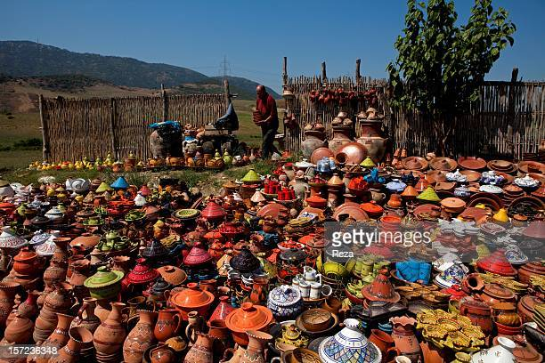 July 30th on the road to Tizi Ouzou Algeria Pottery is one of the traditional arts and crafts of Kabylia Pieces of pottery can be found in local...