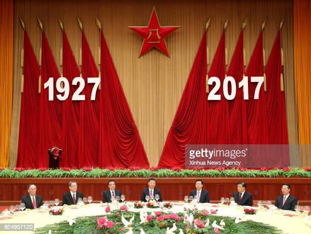 BEIJING July 31 2017 Chinese President Xi Jinping also general secretary of the Communist Party of China Central Committee and chairman of the...