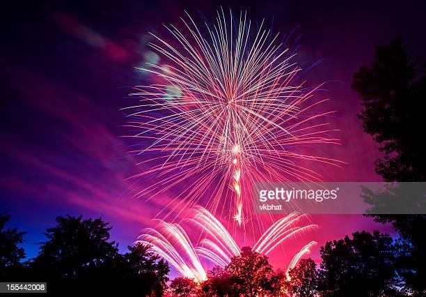 July 4th Fireworks in Boise