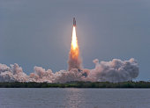 July 8, 2011 - The final launch of Space Shuttle Atlantis from Kennedy Space Center, Cape Canaveral, Florida.