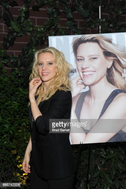 July cover star comedian actress Kate McKinnon attends as ELLE hosts Women In Comedy event with July Cover Star Kate McKinnon at Public Arts on June...