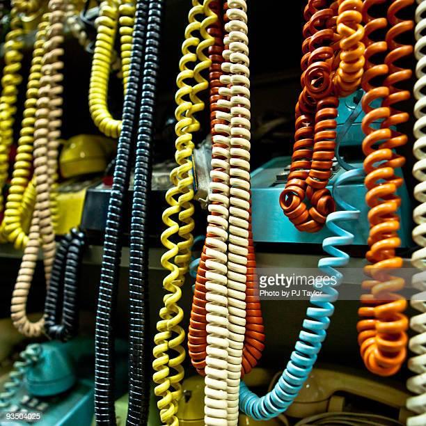 Jumble of Telephone Cords