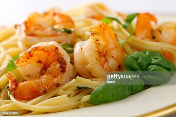 Scampi et Linguini
