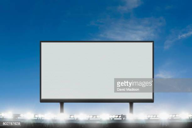 Jumbotron Large Scale Screen in Sports Stadium