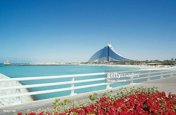 Jumeirah beach and hotel dubai