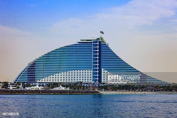 Dubai, VAE – Jumeirah Beach Hotel, offshore-Wurf.
