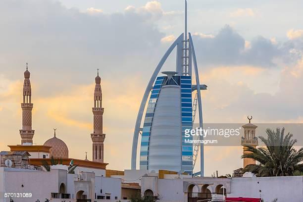 Jumeirah, view of the Burj al-Arab