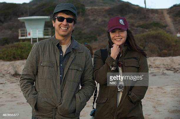 PARENTHOOD 'Jump Ball' Episode 513 Pictured Ray Romano as Hank Lauren Graham as Sarah Braverman