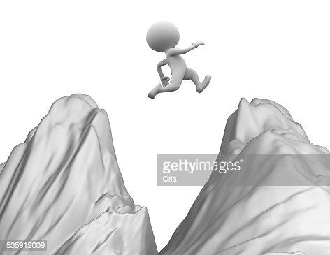 Saltar : Foto de stock
