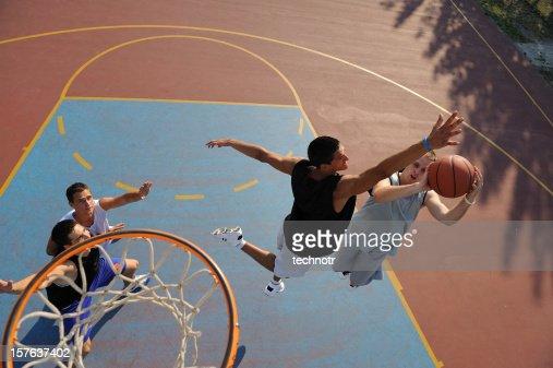 Jump shot and block