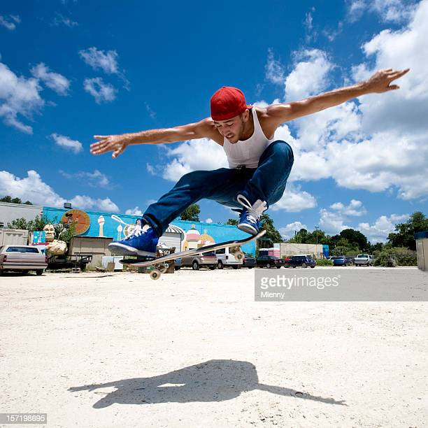 Jump, Skateboarding.