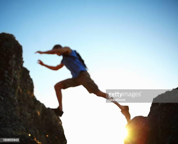 Jumping eine gap